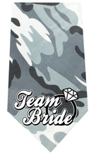 Load image into Gallery viewer, Team Bride Screen Print Bandana-Dog Clothing-Bella's PetStor