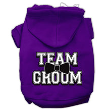 Load image into Gallery viewer, Team Groom Screen Print Pet Hoodies Size-Dog Clothing-Bella's PetStor