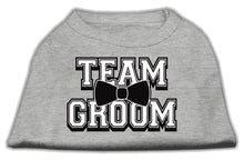 Load image into Gallery viewer, Team Groom Screen Print Shirt-Dog Clothing-Bella's PetStor