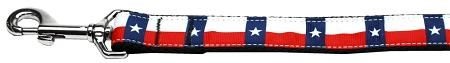 Texas Flag Nylon Dog Leash Inch Wide Long-Dog Collars-Bella's PetStor