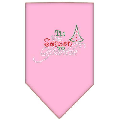 Tis The Season To Sparkle Rhinestone Bandana-Christmas, Hannukah-Bella's PetStor
