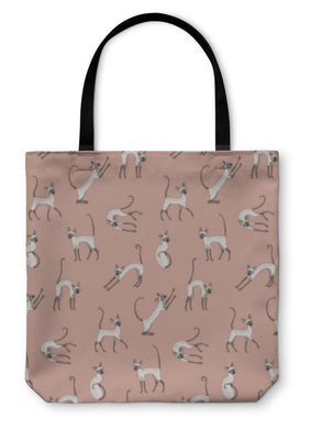 Tote Bag, Cute Cornish Rex Cats-Tote Bag-Bella's PetStor