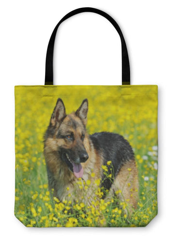 Tote Bag, German Shepherd-Tote Bag-Bella's PetStor