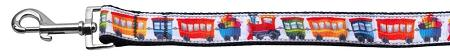 Trains Ribbon Dog Collars 1 Wide Leash-Dog Collars-Bella's PetStor