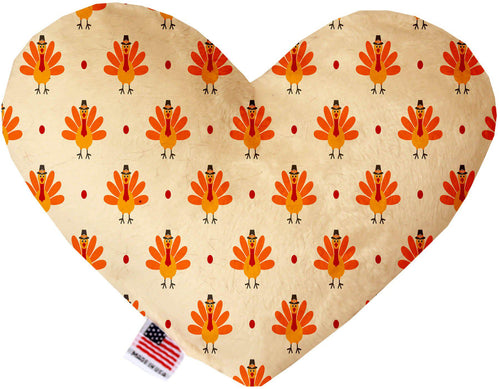 Turkey Trot Inch Canvas Heart Dog Toy-Made in the USA-Bella's PetStor