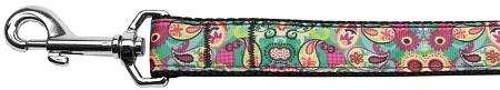Turquoise Paisley Nylon Dog Leash Inch Wide Long-DOGS-Bella's PetStor