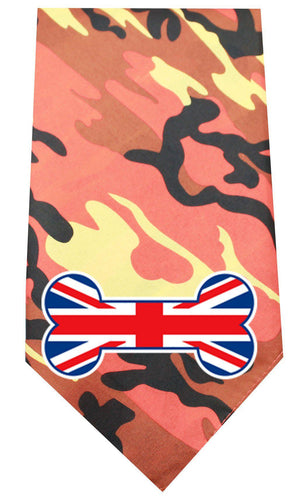 Uk Bone Flag Screen Print Bandana-Dog Clothing-Bella's PetStor