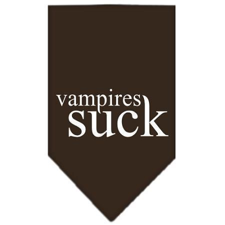 Vampires Suck Screen Print Bandana-Dog Clothing-Bella's PetStor