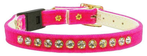 Velvet Breakaway Cat Collar-CATS-Bella's PetStor