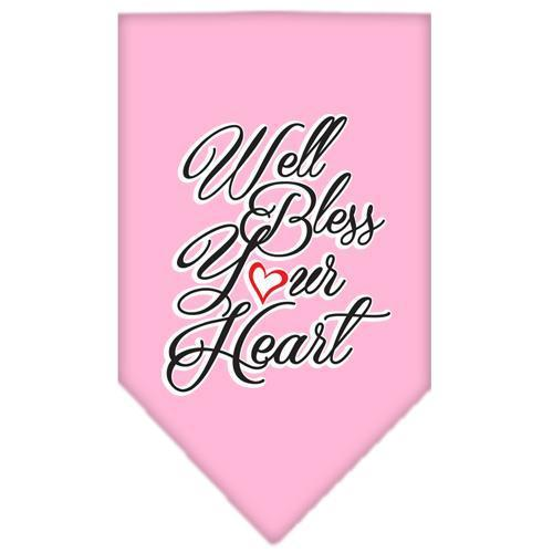 Well Bless Your Heart Screen Print Bandana-General-Bella's PetStor