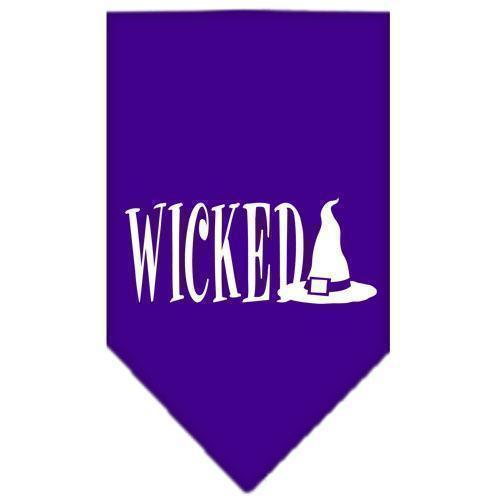 Wicked Screen Print Bandana-Dog Clothing-Bella's PetStor