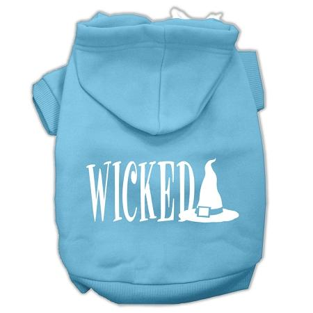 Wicked Screen Print Pet Hoodies Size-Dog Clothing-Bella's PetStor