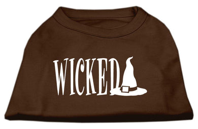 Wicked Screen Print Shirt-Holidays-Bella's PetStor