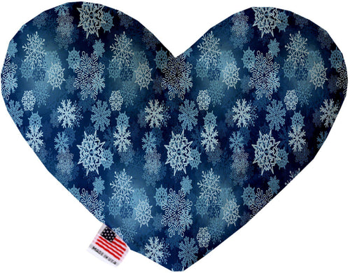Winter Wonderland 8 Inch Canvas Heart Dog Toy-Made in the USA-Bella's PetStor