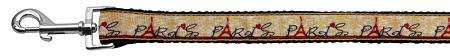 With Love From Paris Ribbon Dog Collars 1 Wide Leash-Dog Collars-Bella's PetStor