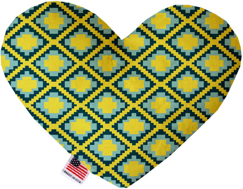Yellow Southwest Inch Heart Dog Toy-More-Bella's PetStor