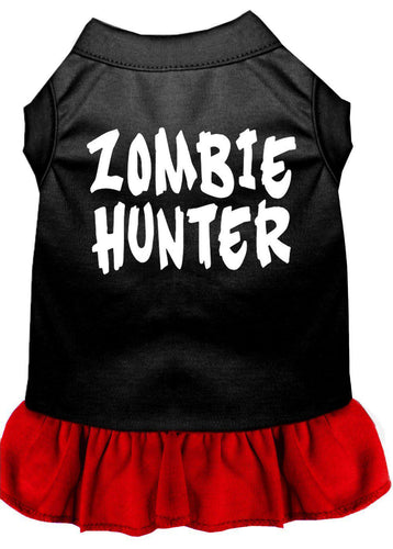 Zombie Hunter Screen Print Dress-Holidays-Bella's PetStor