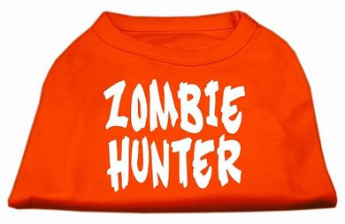 Zombie Hunter Screen Print Shirt-Holidays-Bella's PetStor