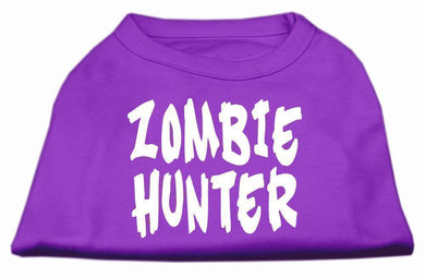 Zombie Hunter Screen Print Shirt-Dog Clothing-Bella's PetStor