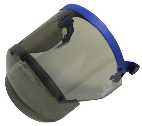 5100  Slotted Visor and Faceshield 12cal