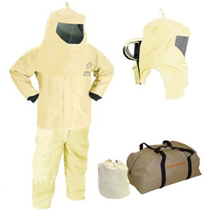 "HRC4 75cal 35"" Jacket, Bib and Hood w/ Air Kit - Without Gloves - AG75KA-JB"