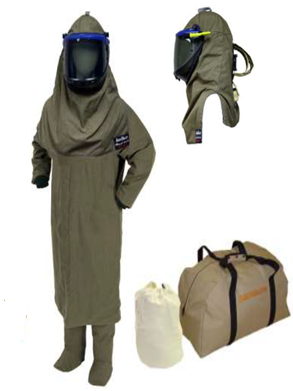 "HRC4 50"" Coat, Leggings and Lift Front Hood w/ Air Kit - Light Weight 40cal - AGN40K3PA-CL"