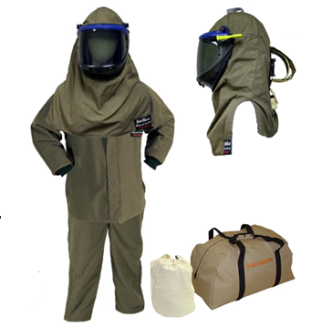 "HRC4 35"" Jacket, Pant and Lift Front Hood w/ Air Kit - Light Weight 40cal - AGN40K3PA-JP"
