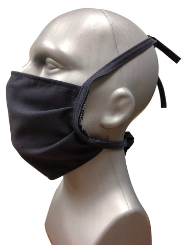 FR Face Mask with FR Ties