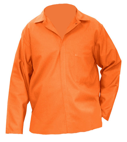 "30"" Orange 100% FR Treated Cotton Whipcord jacket"