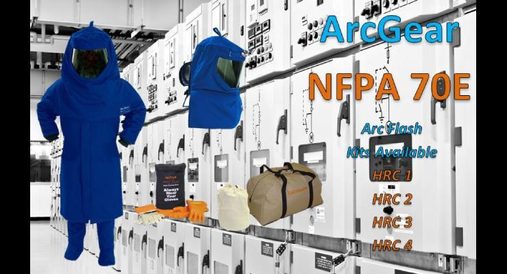 ArcGear NFPA 70E Arc Flash Kits Available