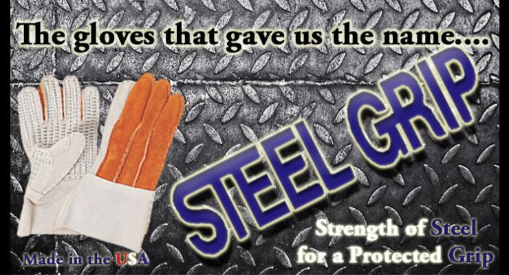 The gloves that gave us the name Steel Grip. Strength of Steel for a Protected Grip