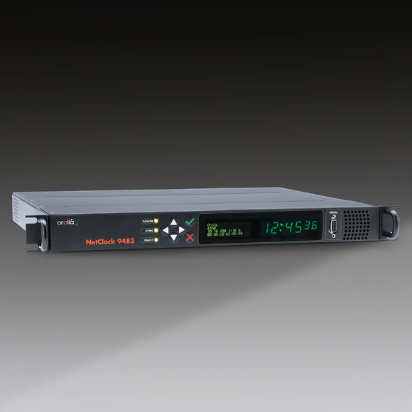 NetClock 9483 Public Safety Master Clock