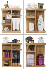 Load image into Gallery viewer, Best seller  sorbus 360 bamboo cosmetic organizer multi function storage carousel for makeup toiletries and more for vanity desk bathroom bedroom closet kitchen