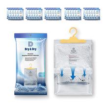 Load image into Gallery viewer, New dry dry 50 packs net 14 oz pack premium hanging moisture absorber to control excess moisture for basements closets bathrooms laundry rooms
