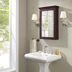 Explore crosley furniture lydia mirrored bathroom wall cabinet espresso