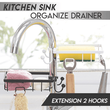 Load image into Gallery viewer, Kitchen Sink Organize Drainer