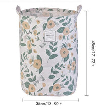 Load image into Gallery viewer, 1 Pc Printing Folding Laundry Basket Cartoon Storage Barrel Standing Toys Clothing Storage Bucket Dirty Clothes
