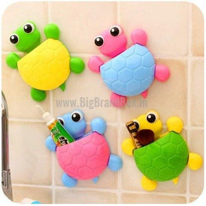 Cartoon Tortoise Toothbrush Holder