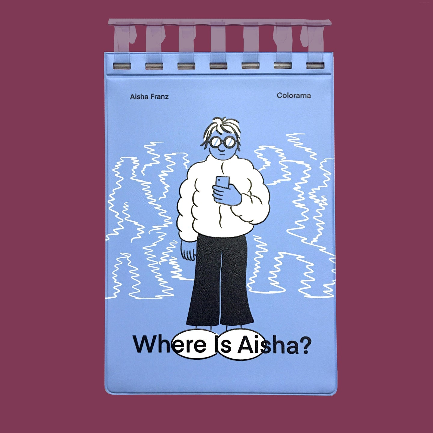 Where is Aisha ?