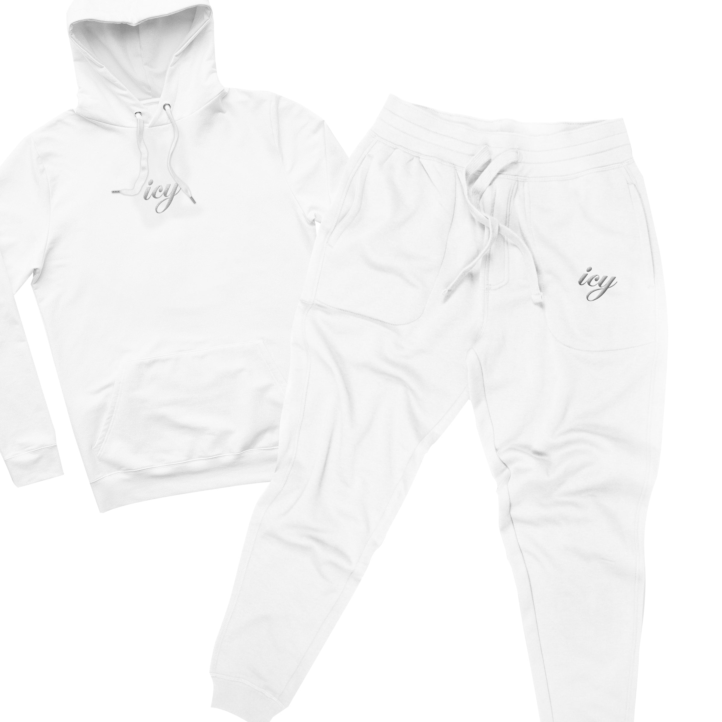 ICY Embroidered Sweatsuit