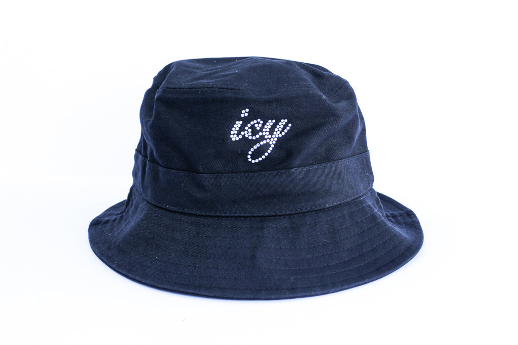 ICY Rhinestone Bucket Hat