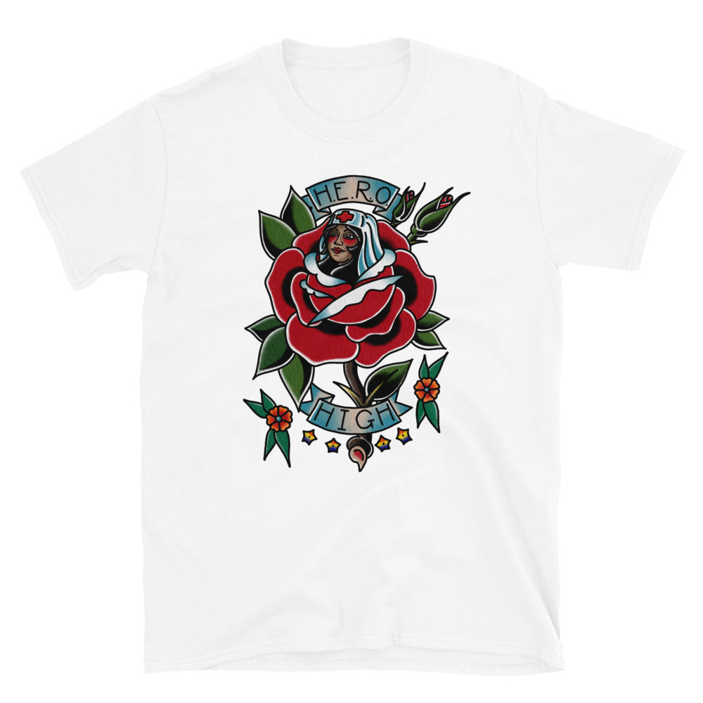 HERO Rose Logo Shirt