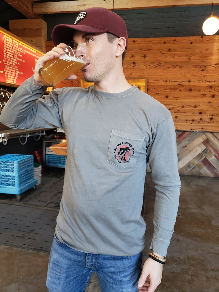 Alpine Fishing Team Long Sleeve Tee