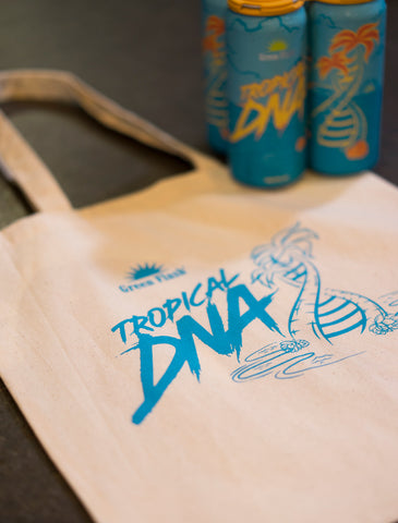 Tropical DNA Tote Bag