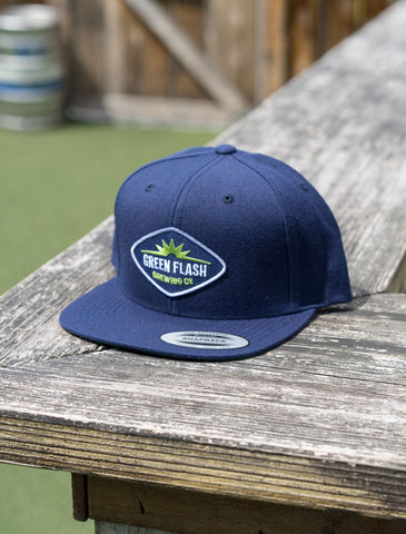 Green Flash Diamond Logo Hat