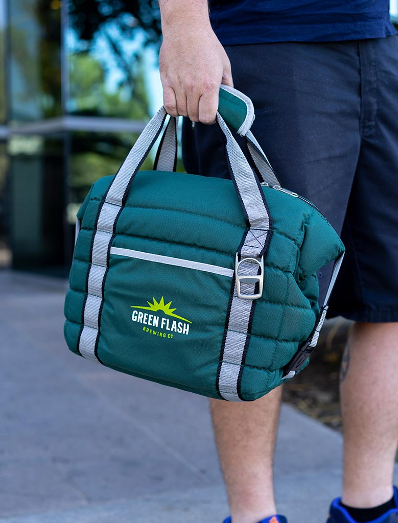 Growler Bag Green