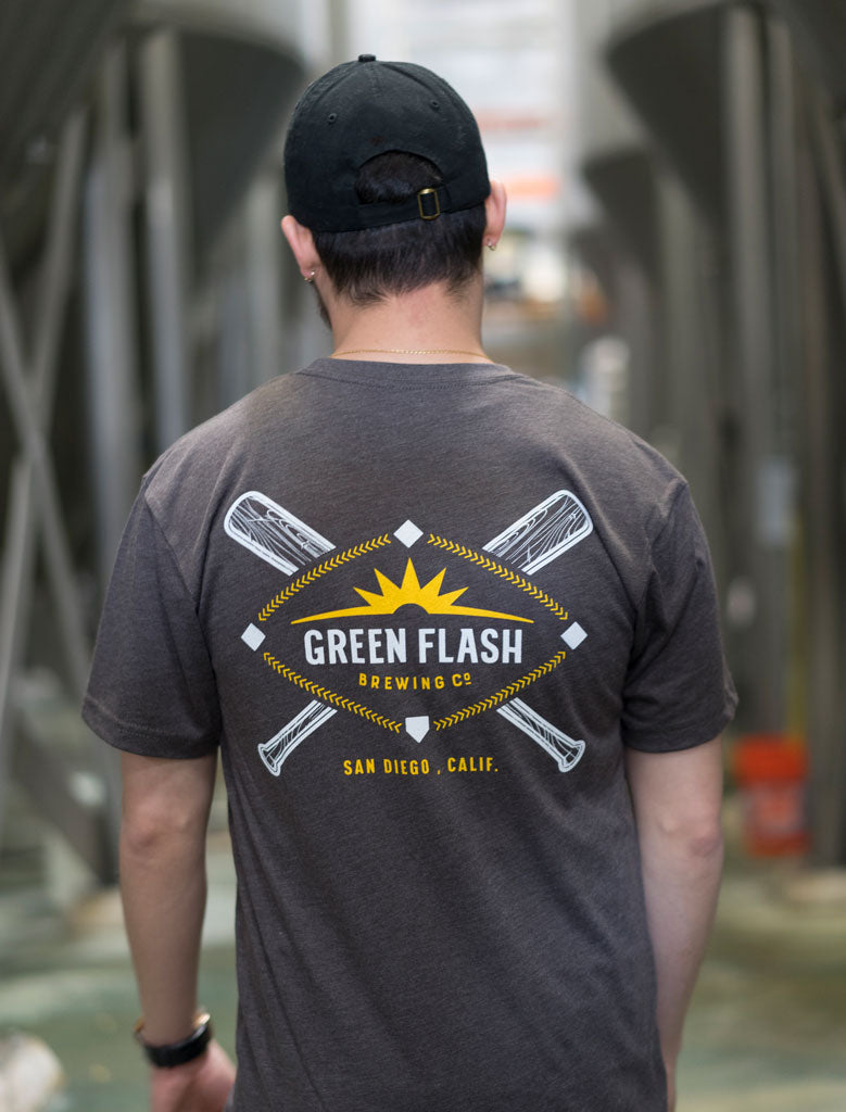 Green Flash Baseball Tee