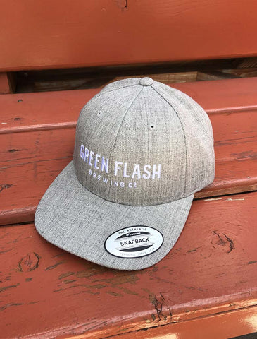 Green Flash Text Hat