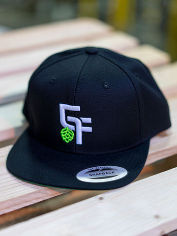 Green Flash 3D Baseball Snapback