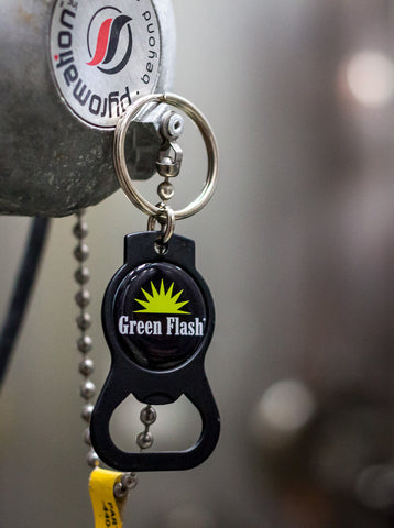 Green Flash Keychain